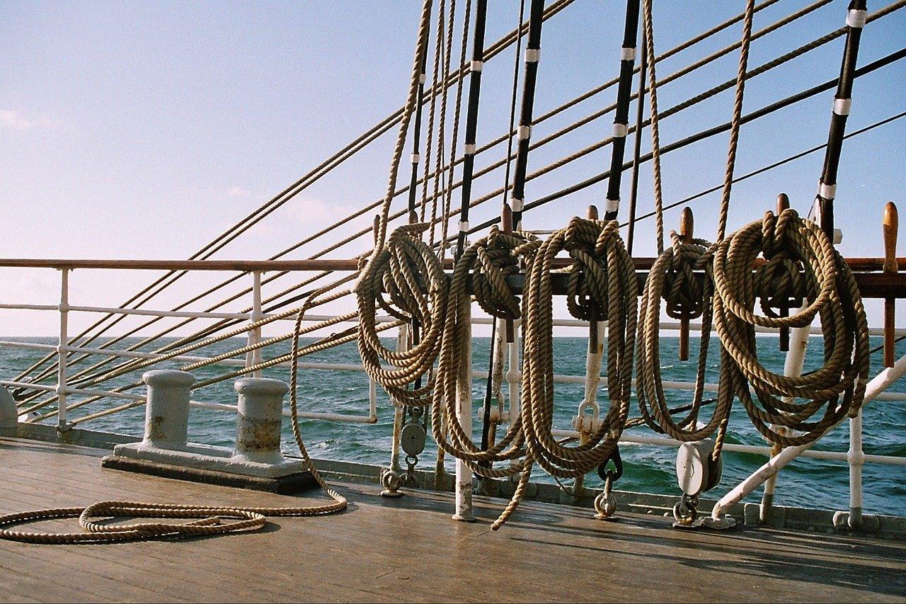 knot, sailing vessel, rigging