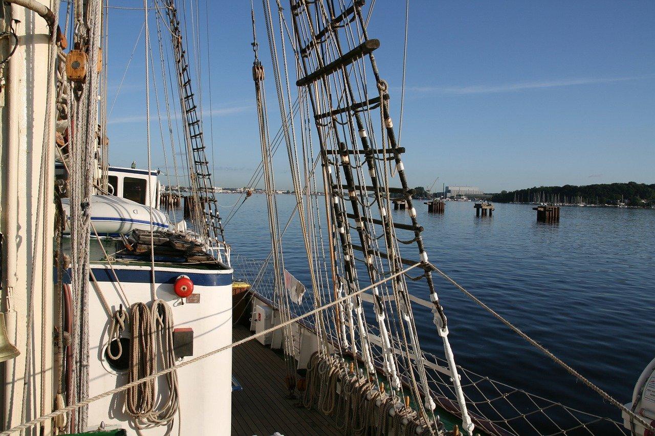 sailing boat, ship, boat